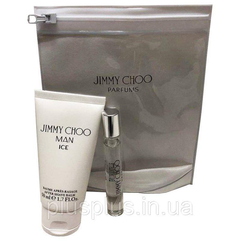Набор Jimmy Choo Man Ice для мужчин  - set (edt 7.5 ml + a/sh 50 ml)