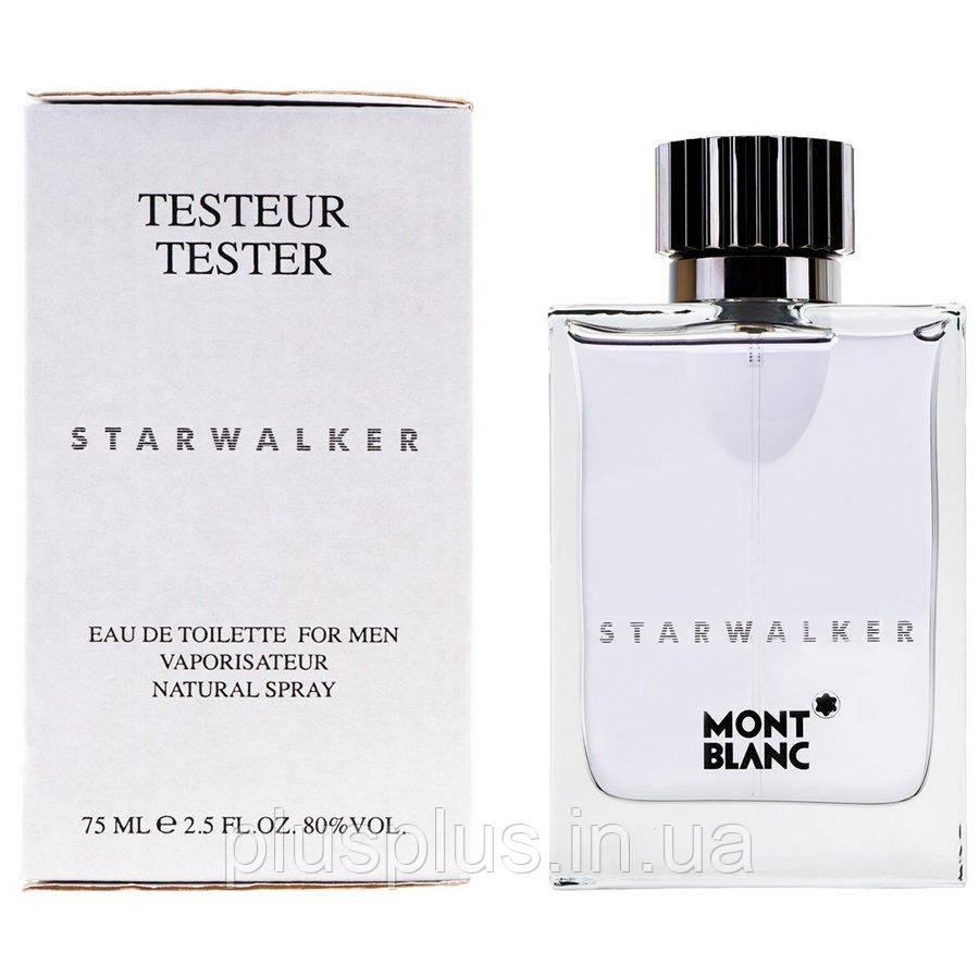 Туалетная вода Montblanc Starwalker для мужчин  - edt 75 ml tester