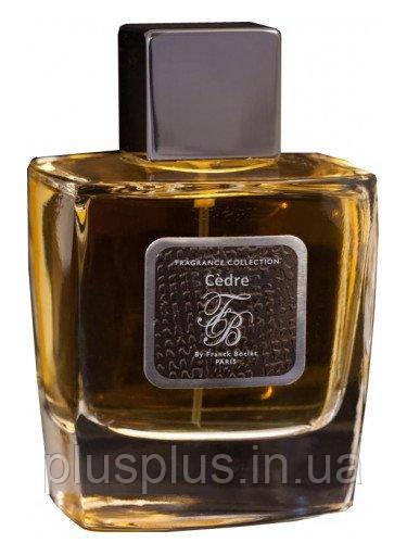 Парфюмированная вода Franck Boclet Cedre для мужчин  - edp 100 ml