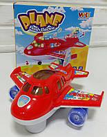 Іграшка музичний літак, звук, світло WH-3044