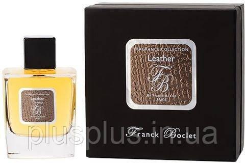 Парфюмированная вода Franck Boclet Leather для мужчин  - edp 100 ml