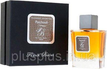 Парфюмированная вода Franck Boclet Patchouli для мужчин  - edp 100 ml