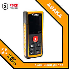 Лазерний далекомір рулетка ASAKA X40
