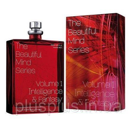 Туалетная вода Escentric Molecules The Beautiful Mind Series Vol.1 Intelligence AND Fantasy для мужчин и