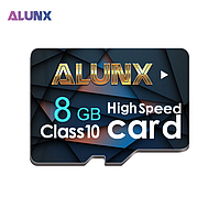 Карта памяти 8GB microSD Class 10 + SD-adapter. Карта памяти микро сд 8 гб Alunx High Speed WE321E