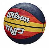 Мяч баскетбольный Wilson MVP Retro WTB9016XB07 (размер 7), фото 2
