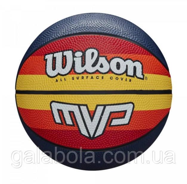 Мяч баскетбольный Wilson MVP Retro WTB9016XB07 (размер 7)