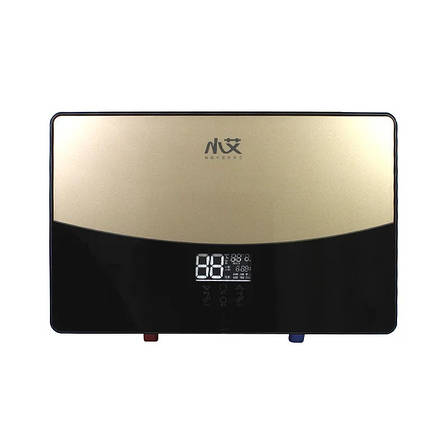 Электрический проточный водонагреватель Nux XA-65A горизонтальный c душем 6000В IPX4 (3671-10571), фото 2