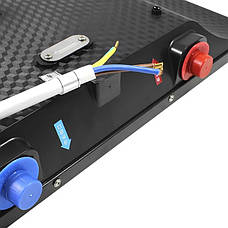 Электрический проточный водонагреватель Nux XA-65A горизонтальный c душем 6000В IPX4 (3671-10571), фото 3