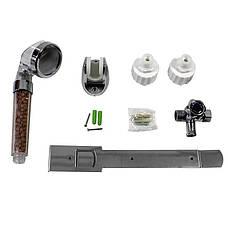 Електричний проточний водонагрівач Nux XA-65A горизонтальний c душем 6000В IPX4 (3671-10571), фото 3