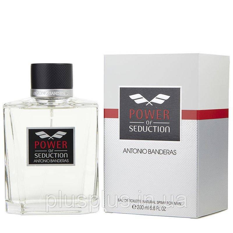 Туалетная вода Antonio Banderas Power of Seduction для мужчин  - edt 200 ml