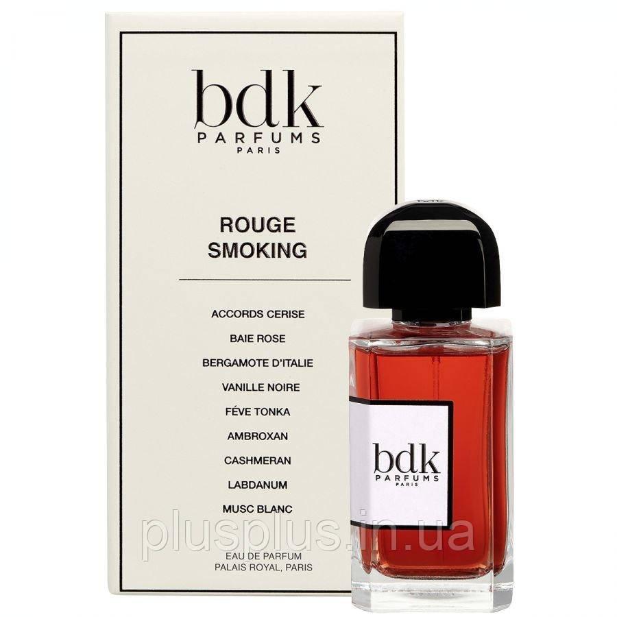Парфюмированная вода BDK Parfums Rouge Smoking для мужчин и женщин  - edp 100 ml
