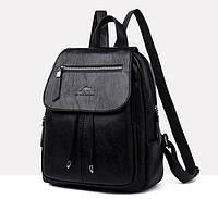 Женский городской рюкзак Кенгуру мини экокожа качественный модный рюкзачок эко кожа