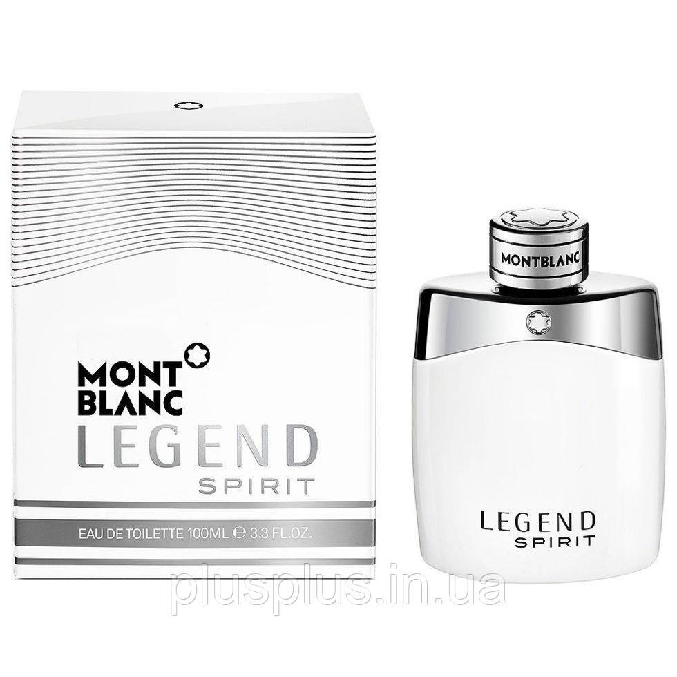 Туалетная вода Montblanc Legend Spirit для мужчин  - edt 100 ml