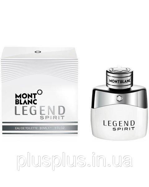 Туалетная вода Montblanc Legend Spirit для мужчин  - edt 30 ml