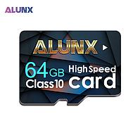Карта памяти 64GB microSD Class 10 + SD-adapter. Карта памяти микро сд 64 гб Alunx High Speed U0032D