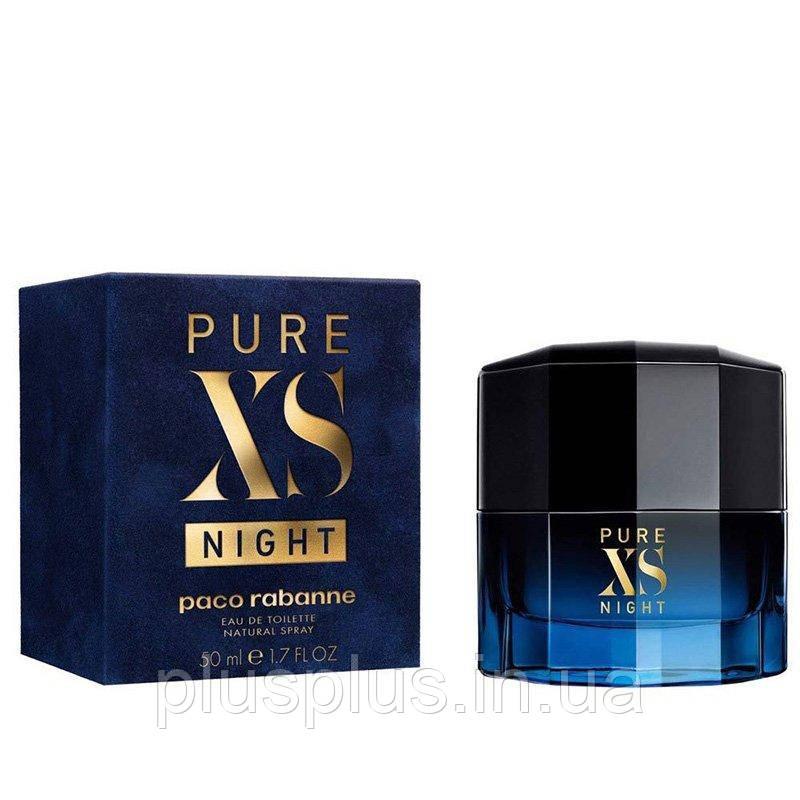 Парфюмированная вода Paco Rabanne Pure XS Night для мужчин  - edp 50 ml