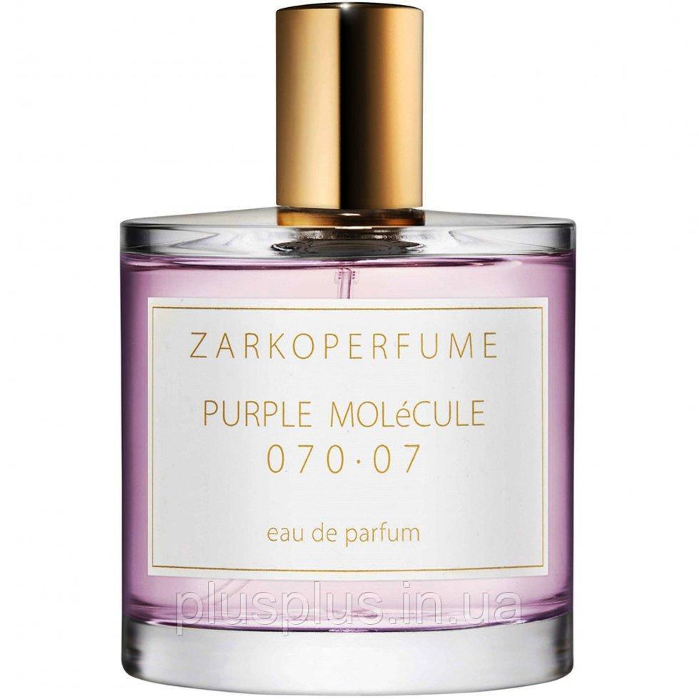 Парфюмированная вода Zarkoperfume Purple Molecule 070.07 для мужчин и женщин  - edp 100 ml
