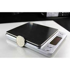 Весы ювелирные электронные MHZ с 2мя чашами 0.01-500 гр (004470), фото 2