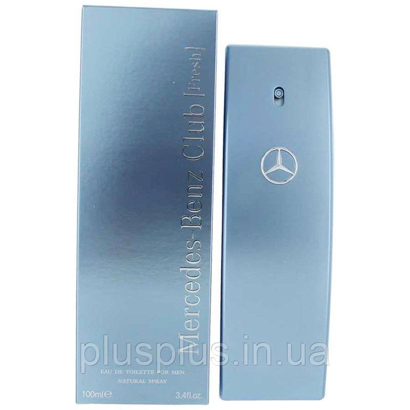 Туалетная вода Mercedes-Benz Club Fresh для мужчин  - edt 100 ml