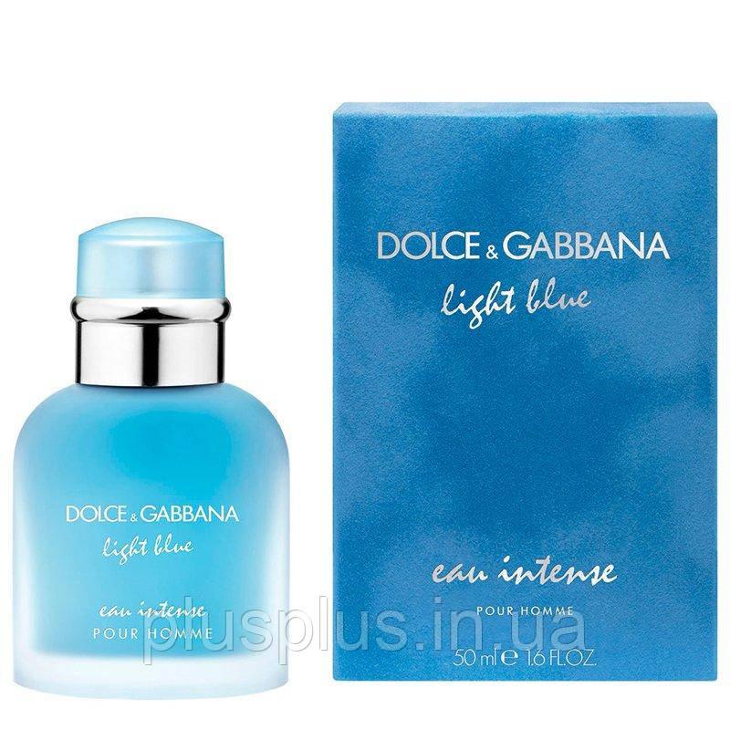 Парфюмированная вода DolceANDGabbana Light Blue Eau Intense Pour Homme для мужчин  - edp 50 ml