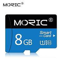 Карта памяти 8GB microSD Class 10 + SD-adapter. Карта памяти микро сд 8 гб Moric Smart Card U5432Q