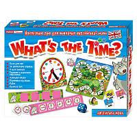 Игра в вопросы Ranok Creative Который час? (На английском языке) (У) (13109072)