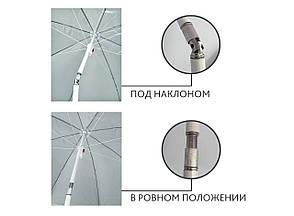 Пляжный зонт  HMD с наклоном 2 м Anti-UV Синий (127-12520351), фото 2