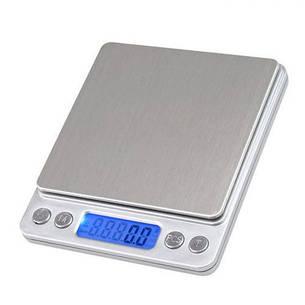 Электронные весы ювелирные UKC с 2-мя чашами 0.1-3000 г Grey (004469), фото 2
