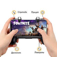 Безпровідний геймпад-тригер для смартфона Union PUBG Mobile F1 Чорний (001), фото 2