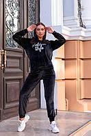 Женский костюм спортивный велюр турецкий