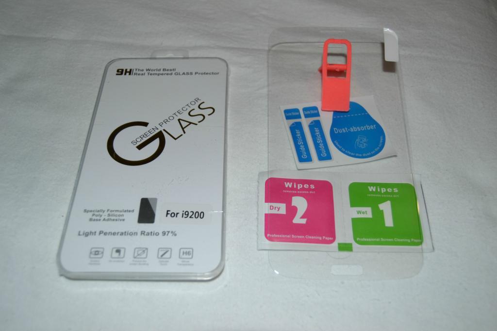 Защитное стекло для Samsung i9200 High Quality