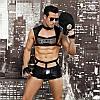 """Мужской эротический костюм полицейского """"Капитан Суровый"""" фуражка, трусы, топ, перчатки, очки, наруч, фото 2"""