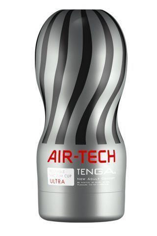 Мастурбатор Tenga Air-Tech Ultra Size, более высокая аэростимуляция и всасывающий эффект