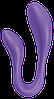 Вибратор для пар Adrien Lastic Couple Secrets II с пультом LRS, два мотора, универсальный, фото 2