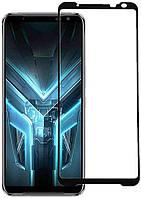 Защитное стекло Asus ROG Phone 3 ZS661KS / ROG Phone 3 Strix Full Glue 5D (Mocolo 0.33 mm)