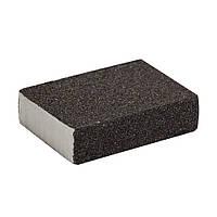 Губка шлифовальная четырехсторонняя 100×70×25мм P80 SIGMA (9130651)