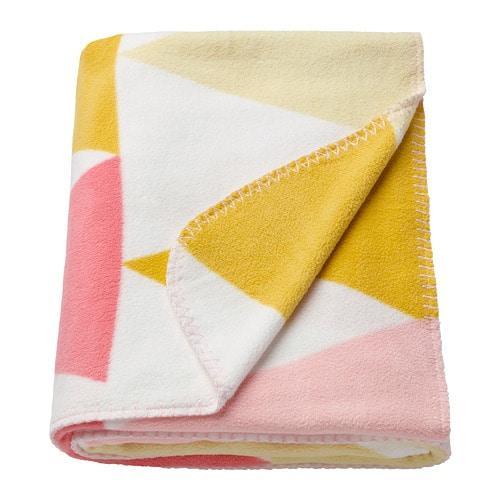 ИКЕА (IKEA) STILLSAMT, 203.593.33, Одеяло детское, светло-розовый, 120x180 см - ТОП ПРОДАЖ