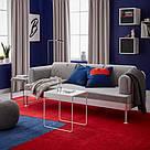 ИКЕА (IKEA) LANGSTED, 304.080.45, Ковер, короткий ворс, красный, 133x195 см - ТОП ПРОДАЖ, фото 4