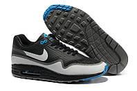 Кроссовки мужские Nike Air Max 87 Hyperfuse (найк аир макс 87) черные