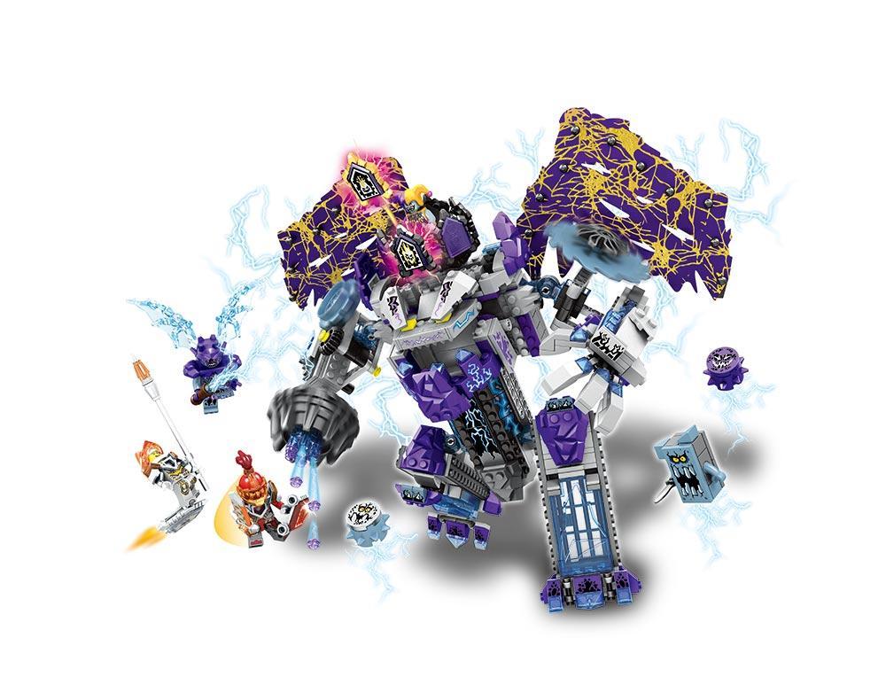 Конструктор JVToy, Новые рыцари, Каменный великан, 714 деталей (11002)
