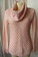 Свитер женский теплый нежный акрил бренд M&Co р.46 4107