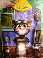 Развивающий плакат для Вашего малыша Talking Tom Cat