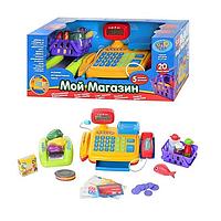 Детский Контрольно-кассовый аппарат. Игра в магазин. Детская касса. Игрушки для девочек.