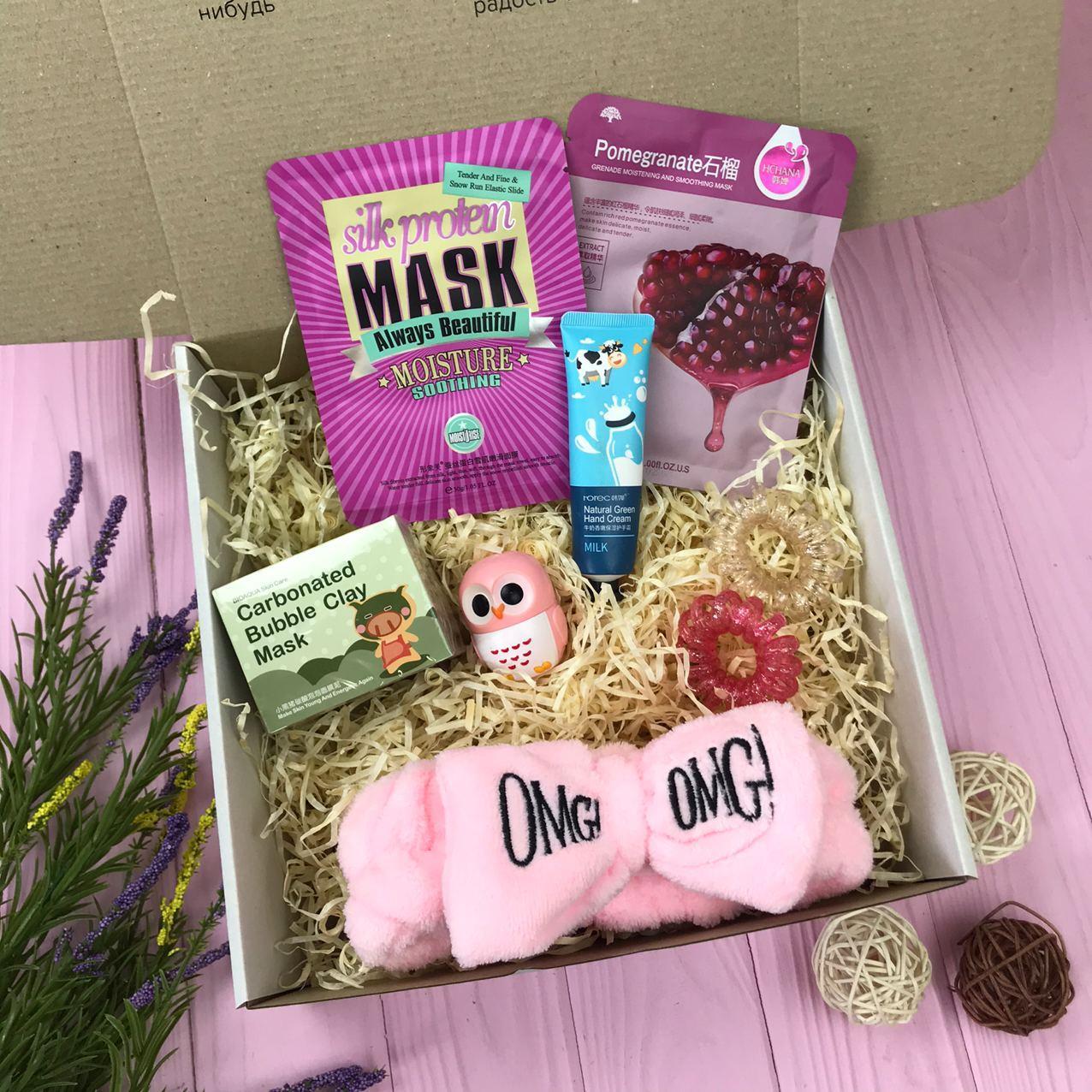 Подарунковий Набір City-A Box Бокс для Жінки Б'юті Beauty Box з 8 од №2364