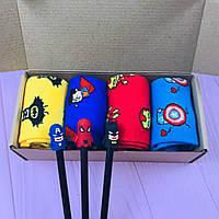 Подарунковий Набір City-A Box Бокс з Шкарпетками Marvel для Чоловіка і Жінки з 7 од №2373, фото 1