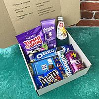 Подарочный Набор City-A Box Бокс для Женщины Мужчины Сладкий Sweet Box из 9 ед №2854, фото 1
