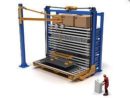 Автоматизированный склад листового металлопроката с возможностью хранения штучных грузов