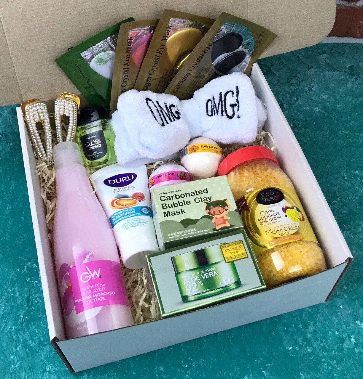 Подарочный Набор City-A Box Бокс для Женщины Бьюти Beauty Box из 15 ед №2892