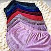 Плюшевая пижама (футболка и шорты) Бордовая, фото 3